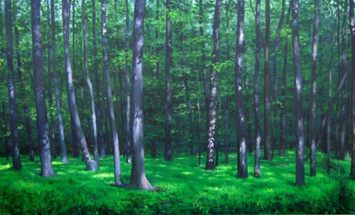 acrylic on canvas 62