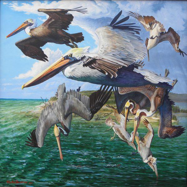 acrylic on canvas 50