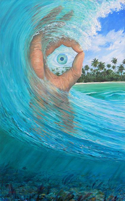 """acrylic on canvas 36""""x60"""" 2012"""